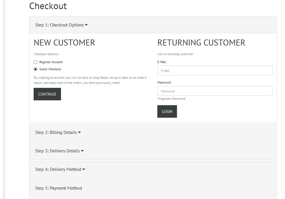 OpenCart 2.x. How to remove fields from checkout process - Template ...