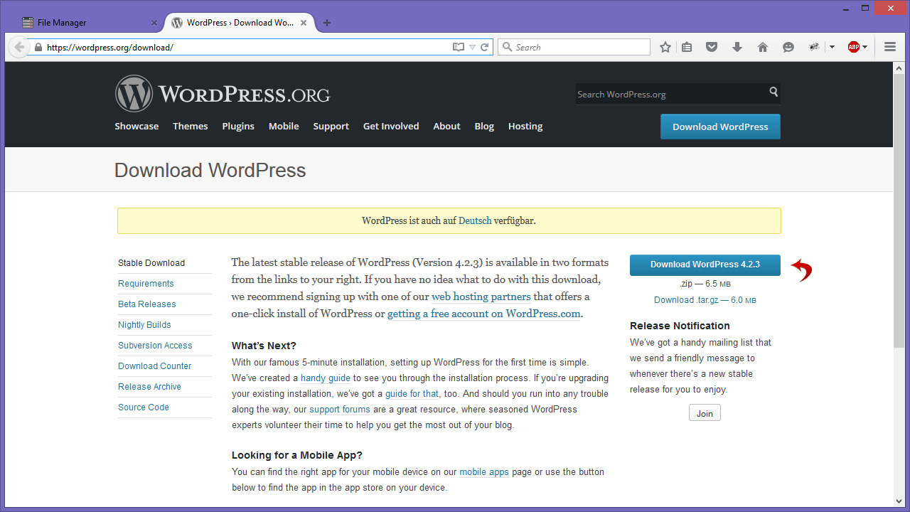 how to add xhtml in a wordpress database