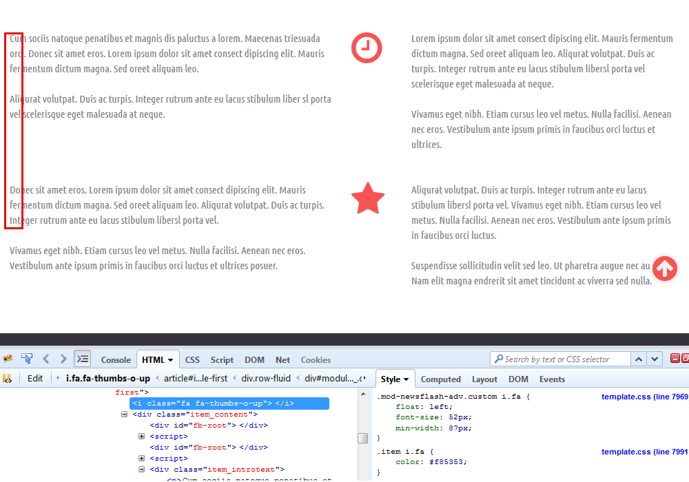 Joomla edit icon missing