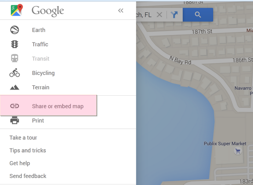 Wordpress How To Get Embed Map Code From Google Maps Template