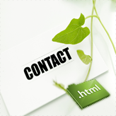 Landing page. How to activate contact form