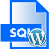 WordPress. How to install theme Sample data (SQL import with GoDaddy)