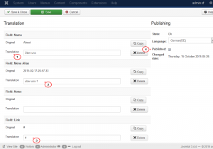 Joomla3.x. How to translate content with the Falang plugin-2