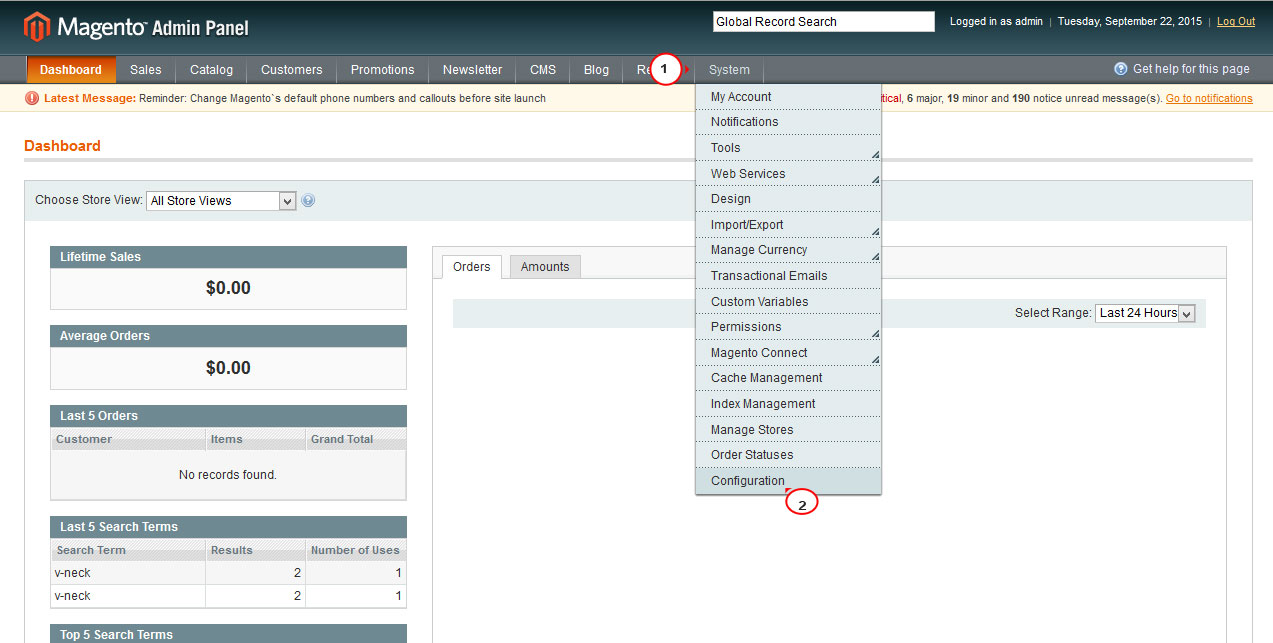 Magento  How to enable/disable customer login redirect - Template