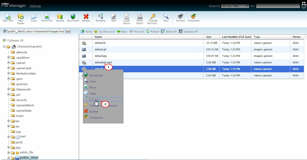 VirtueMart 3.x. How to replace header video with an image - Template ...