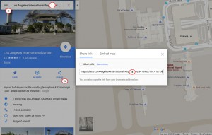how to change Google map location 2.4