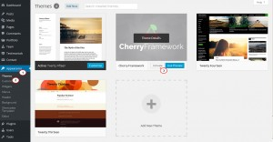CherryFramework 4. How to install (upload) theme manually via FTP3
