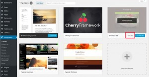CherryFramework 4. How to install (upload) theme manually via FTP5