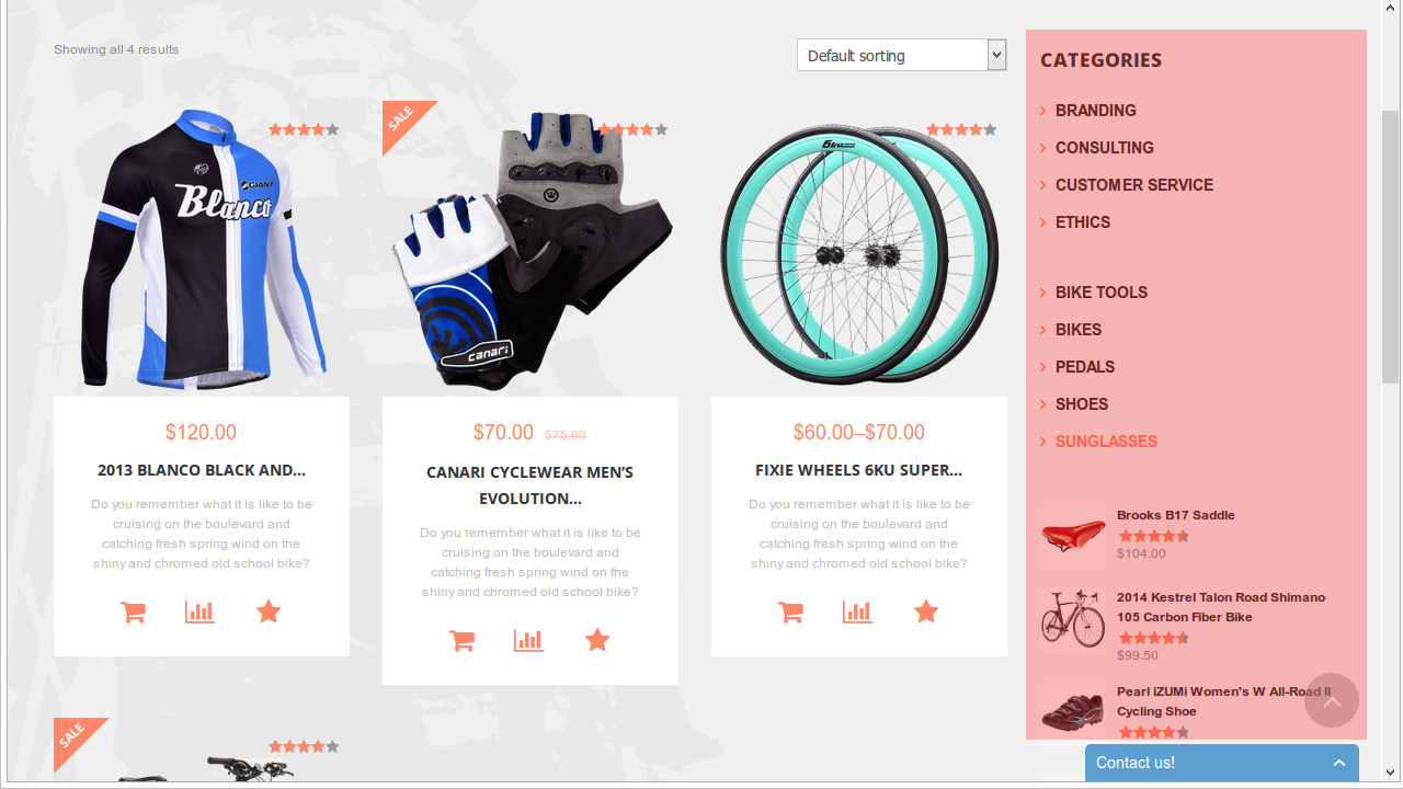 WooCommerce. How to remove sidebar from product category page and ...
