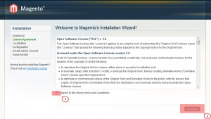 Magento. How to install Magento engine and template on localhost_3
