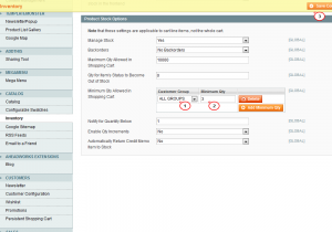 Magento. How to set default product quantity in cart-2