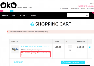 Magento. How to set default product quantity in cart-3