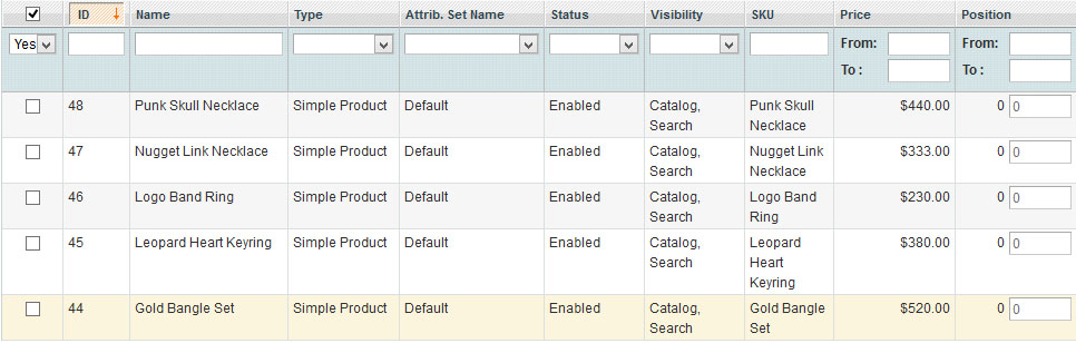 how to set up magento stagin