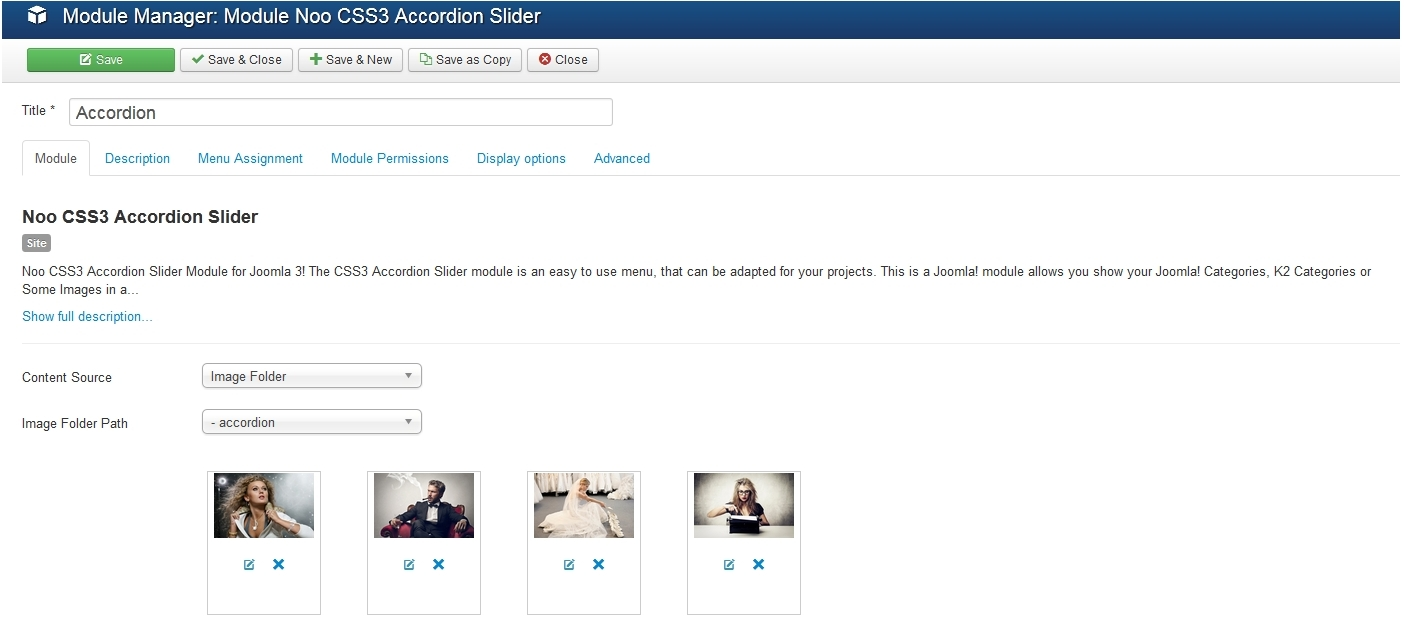Joomla 3.x. How to edit accordion slider content (based on template ...