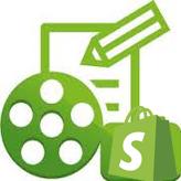 Shopify. Wie man einen Text, ein Bild oder ein Video zur Hauptseite hinzufügt