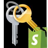 Shopify. Wie man die benutzerdefinierte Passwort-Seite erstellt