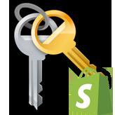 Shopify. Wie man die Darstellung der Passwort-Seite einstellt