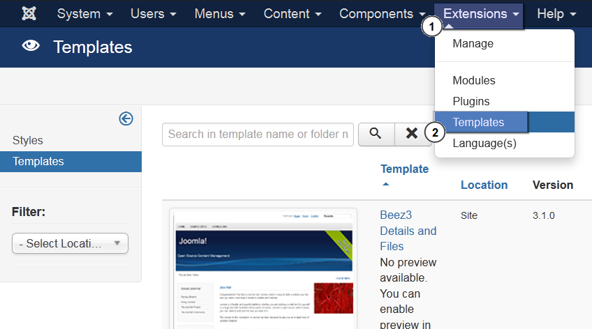 how to upload a template in joomla - free download program edit joomla template firefox