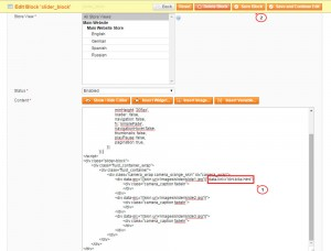 Magento_How_to_assign_links_to_slides_1