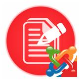 Joomla 3.x. Как заменить текст элемента меню изображением