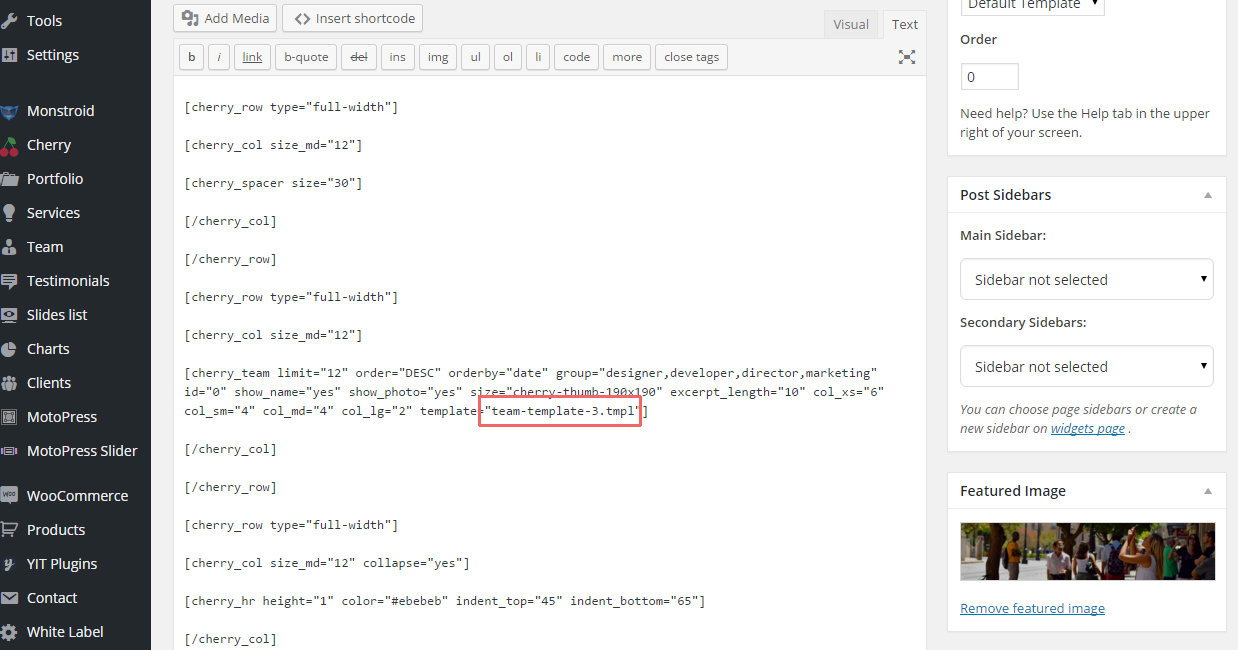 CherryFramework 4 . How to work with Shortcodes Templater - Template ...
