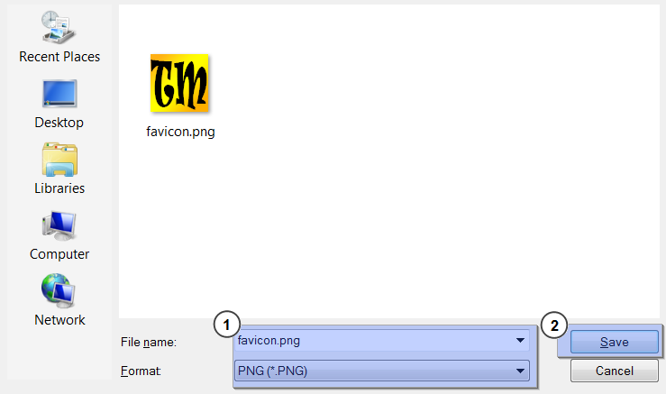 How to create  ico favicon with Photoshop - Template Monster