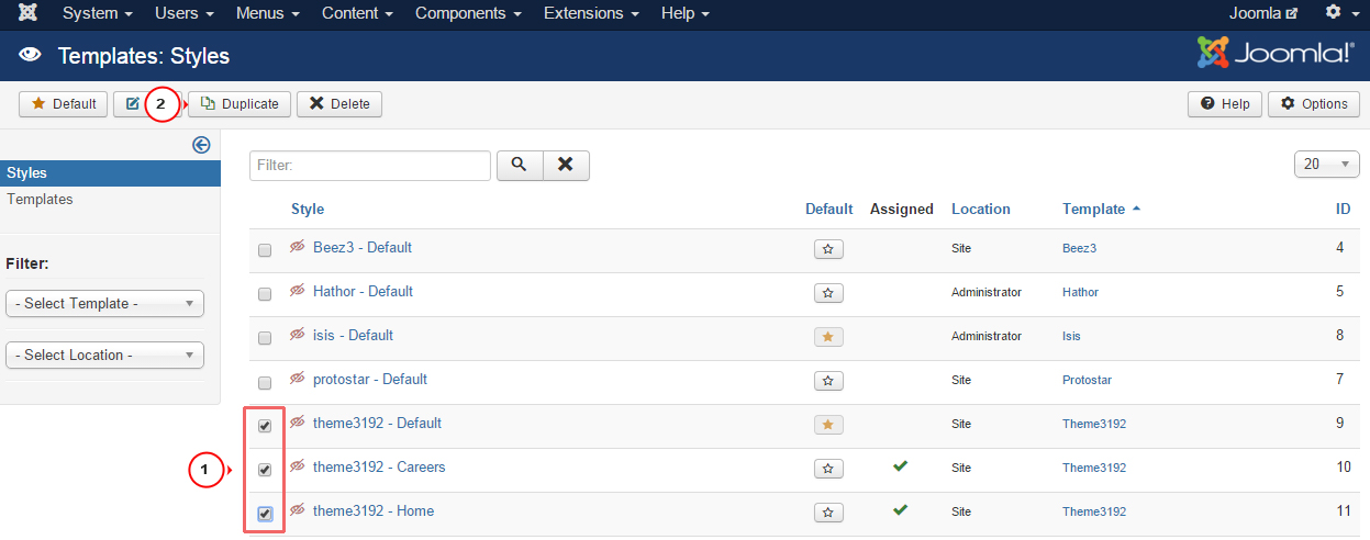 how to upload a template in joomla - joomla 3 x how to assign different logo per language