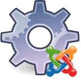 Joomla 3.x. How to replace the text logo with image logo on the loading page (Wegy template)