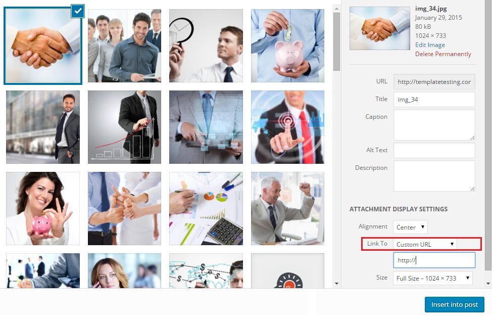 appearance menu wordpress widget option