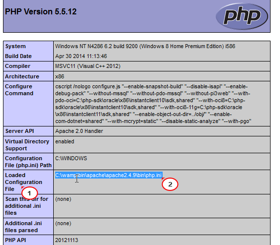 How to modify php ini on localhost - Template Monster Help