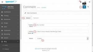 opencart_how_to_manage_blog_comments_2