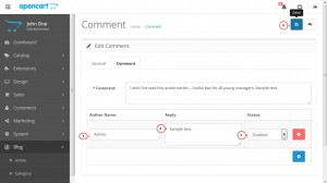 opencart_how_to_manage_blog_comments_4