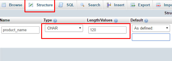 Virtuemart 3 X How To Change The Product Title Length Limit Set For Database Table Field Template Monster Help
