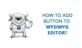 How to Add Custom Button to the WP Editor?