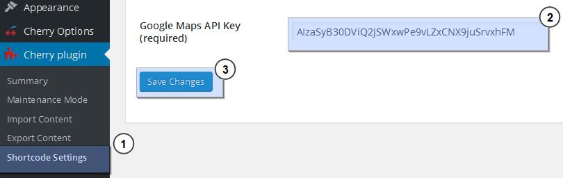 CherryFramework 3 Troubleshooter. Google Maps do not show up (API ...