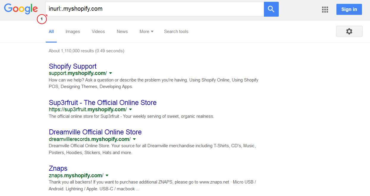 Where can I find store list of Shopify stores? - Template