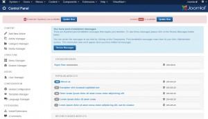Joomla 3.x. How to update the engine manually-1