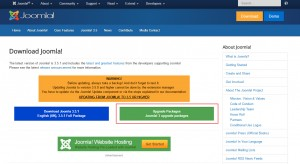 Joomla 3.x. How to update the engine manually-2