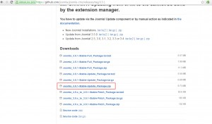 Joomla 3.x. How to update the engine manually-3