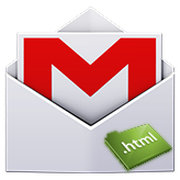 Как использовать шаблон html (который я скачал) в Gmail и/или другом клиенте электронной почты?