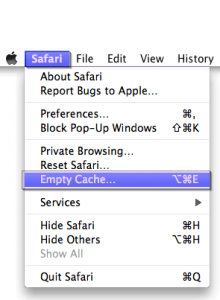how to clear tor browser cache