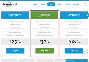 Joomla 3. How to manage pricing tables-2