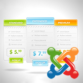 Joomla 3.x. How to manage pricing tables