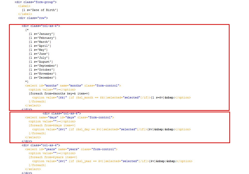 PrestaShop 16x How To Change Date Format In Customer