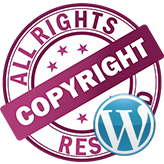 WordPress Blogging themes. How to change footer copyright text