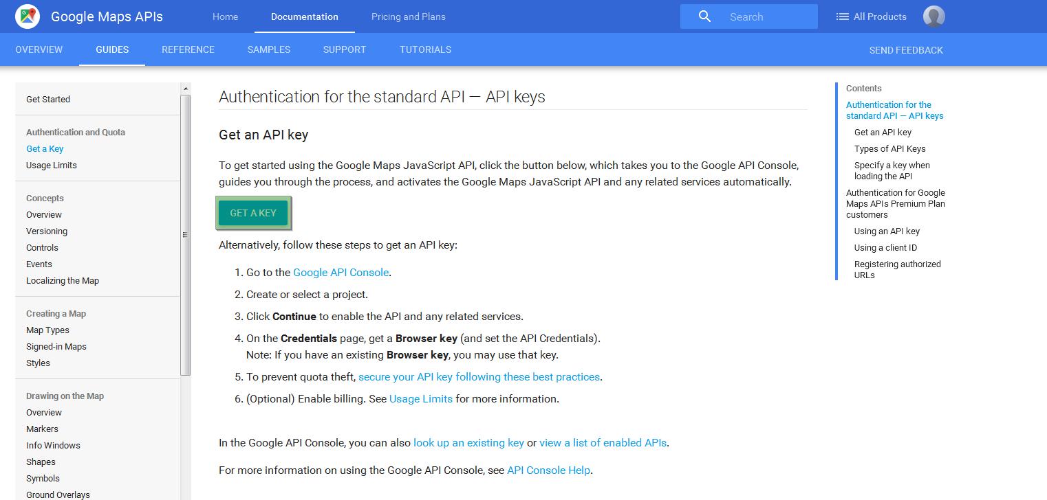 WordPress  How to manage Google Maps API key in WPL plugin