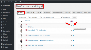 how to translate products with WooCommerce Multilingual.3