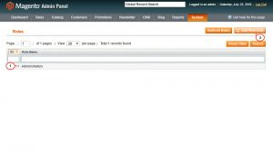 Magento. How to disable specific content for specific user roles-1