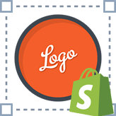 Shopify. How to change the text logo and its size