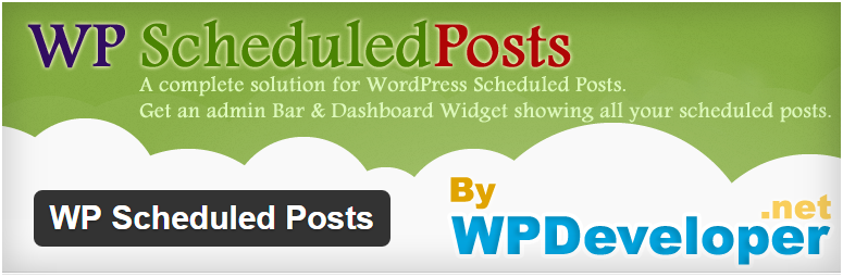 7. WP Scheduled Post